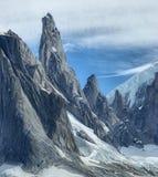 Cerro Torre. Massif in Los Glacares National Park, Argentina Stock Photo