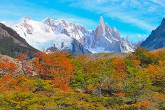 Cerro Torre mountain. Royalty Free Stock Photos