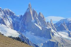 Cerro Torre mountain. Stock Image