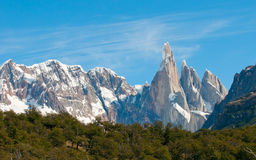 Cerro Torre mountain, Patagonia, Argentina Royalty Free Stock Photos