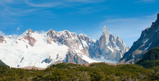 Cerro Torre mountain, Patagonia, Argentina Stock Photography