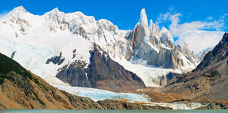 Cerro Torre mountain in Patagonia, Argentina Stock Images