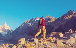 Cerro Torre foto de archivo