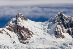 Cerro-Torre's glacier Royalty Free Stock Images
