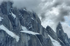 Cerro Torre. Summit in Los Glacares National Park, Argentina Stock Photography