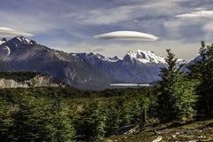 Cerro Torre w południowym lodowym polu Patagonia, Argentyna fotografia stock