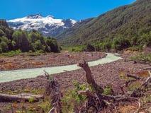 Cerro Tronador royalty-vrije stock foto's