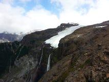 Cerro Tronador`s waterfall royalty free stock image