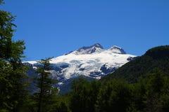 Cerro Tronador vulkan - Argentina Arkivbilder