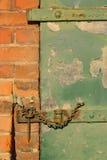 Cerrojo y grapa Imágenes de archivo libres de regalías