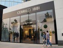 Cerruti 1881 opslag Stock Foto