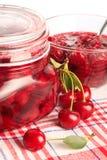 Cerry jam Stock Images