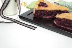 Cerry-Torte Lizenzfreies Stockbild