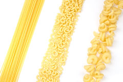 Certain types of pasta Royalty Free Stock Image
