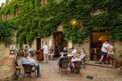 Certaldo, Φλωρεντία - Τοσκάνη, Ιταλία Στοκ Εικόνες