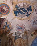 Certaldo Frescos Royalty Free Stock Photography