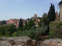 Certaldo, Italian destination in Tuscania Royalty Free Stock Image