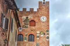Certaldo museum facade Royalty Free Stock Photo
