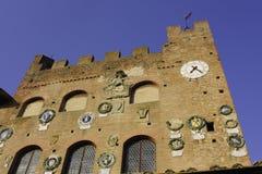 Certaldo - praetorian palace Royalty Free Stock Images