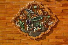 Certamic Ducks Decoration Forbidden City Royalty Free Stock Photos