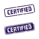 Certifié illustration stock