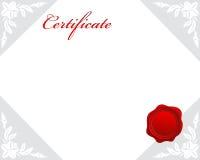 Certificaat vector illustratie