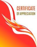 Certificaat van Appreciatieontwerp vector illustratie