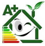 Certificación A+ de la energía libre illustration