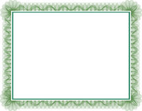 Certificado Imagem de Stock Royalty Free