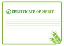 Certificado Fotografia de Stock