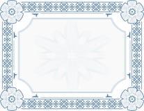 Certificado Stock de ilustración