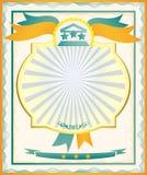 Certificado Imagen de archivo