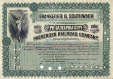 Certificado común viejo 3 Imagenes de archivo