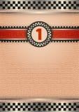 Certificado da concessão, cor retro Imagens de Stock