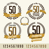 Certificado de logro Imagen de archivo