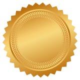 Certificado del sello del vector Imagen de archivo