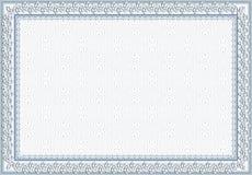 Certificado, diploma para la impresión imagenes de archivo