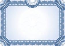 Certificado do diploma ilustração do vetor