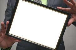 Certificado do diploma da melhor zombaria do trabalhador ou do gerente acima Feche acima da foto foto de stock