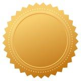 Certificado em branco da garantia ilustração royalty free