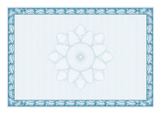 Certificado moderno Diplomas do molde, moeda Imagens de Stock Royalty Free