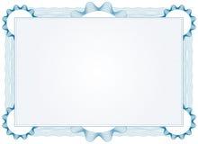 Certificado seguro altamente detalhado ilustração do vetor