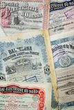 Certificados conservados em estoque Fotografia de Stock Royalty Free