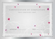 Certificat Images stock