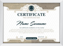 certificat illustration stock