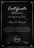 certificat Photos stock