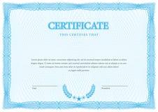 certificat Diplômes de calibre, devise Vecteur Image stock