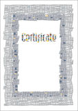 Certificate Stock Images