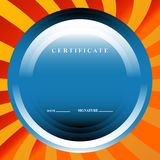 The certificate Stock Images