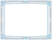 Certificate of Achievement Award Royalty Free Stock Images